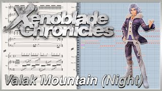 "New Transcription: ""Valak Mountain (Night)"" from Xenoblade Chronicles (2010)"