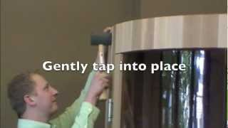 Silo Sauna Assembly - Almost Heaven Saunas