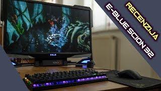 """All in One E-BLUE Scion 32 recenzija - moćno stolno gaming računalo sa 32"""" zaslonom (24.08.2108)"""