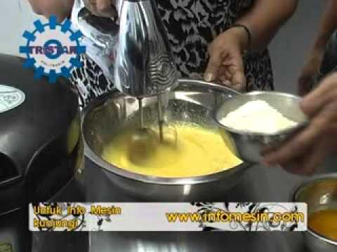 Video Cara Mudah Memanggang Kue dengan Oven Listrik Signora