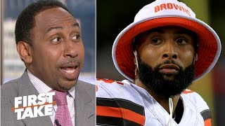 Odell Beckham is playing right into Gregg Williams' hands – Stephen A. | First Take