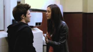 TVD | 1x01 | Elena and Jeremy are fighting in the men's room. [HD]