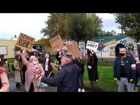Wideo1: Strajk Kobiet w Górze (28.10.2020)