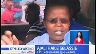 Watu kadhaa wahjeruhiwa baada ya ajali katika barabara ya Haile Selassie Nairobi