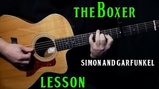 """how to play """"The Boxer"""" on acoustic guitar by Simon and Garfunkel 