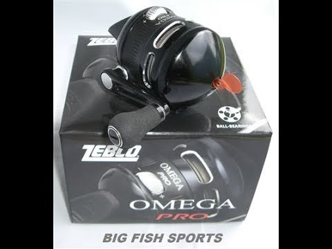 Zebco Omega Pro 3 Spincasting Reel Unboxing & Review
