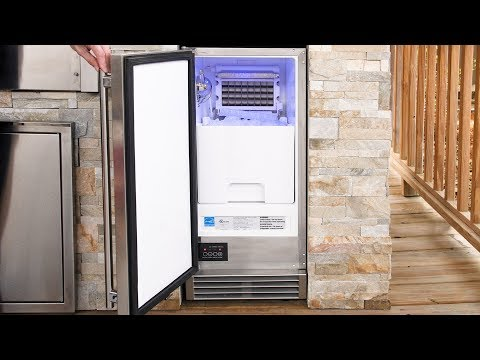Blaze 15 Inch Outdoor Rated Ice Maker Overview