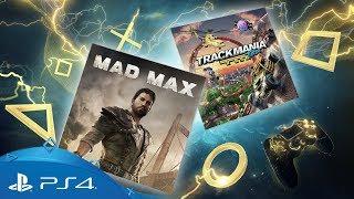 Lista de jogos anunciados para PS Plus de Abril, conta com Mad Max