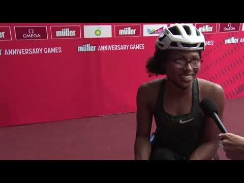 Interview following Muller Anniversary Games 2018