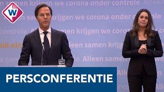Persconferentie coronavirus: Kabinet wil avondklok instellen - OMROEP WEST