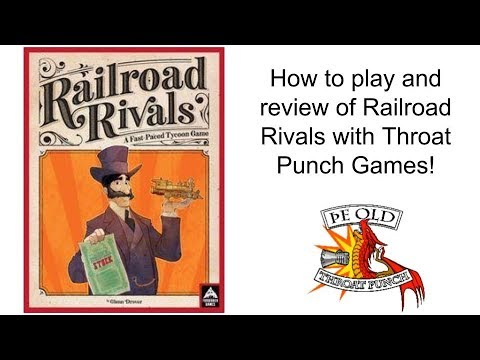 Ring Side Report-How to Play and Review of Railroad Rivals