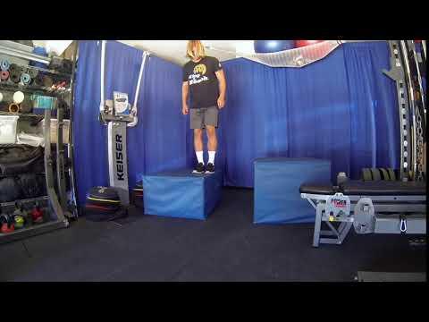 Single Leg Lateral Box Depth Jump  Edit