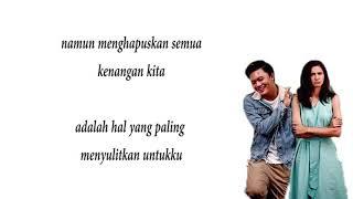 Berpisah Itu Mudah   Rizky Febian Feat. Mikha Tambayong (Lirik Lagu)