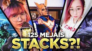 Scarra - 125 MEJAIS STACKS ON ONE TEAM?! feat. Lilypichu, Sleightlymusical & LoLNatsumiii