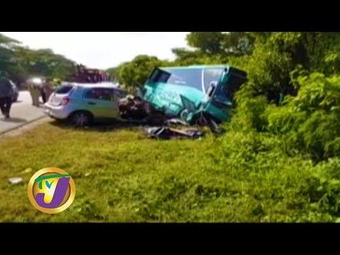 TVJ News: Deadly Crash: 4 Dead; 3 Hospitalized - January 19 2020