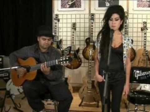 Amy Winehouse - Back To Black (Live Acoustic)