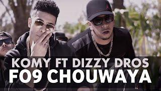 Komy ft Dizzy DROS - Chouwaya (EXCLUSIVE Music Video)   Remix All The Way Up   2016كومي - الشواية