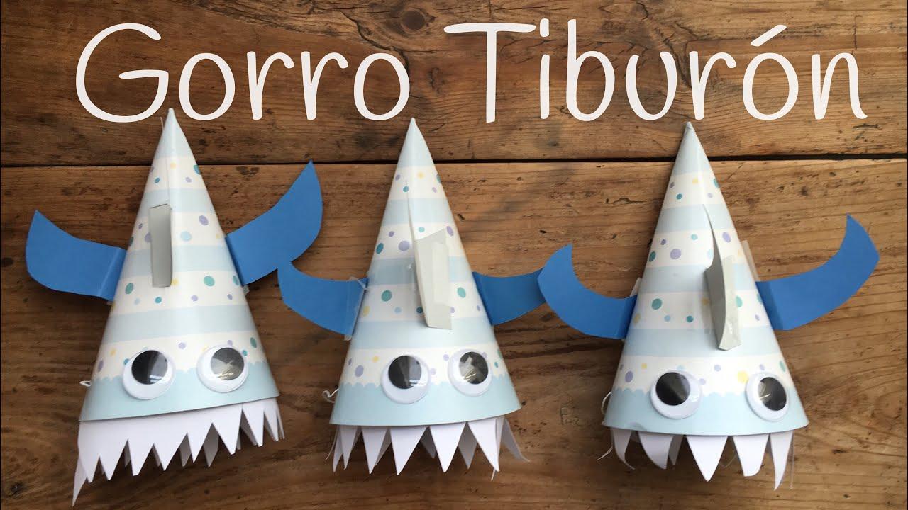Sombrero de papel fácil | Adornos para FIESTAS de cumpleaños