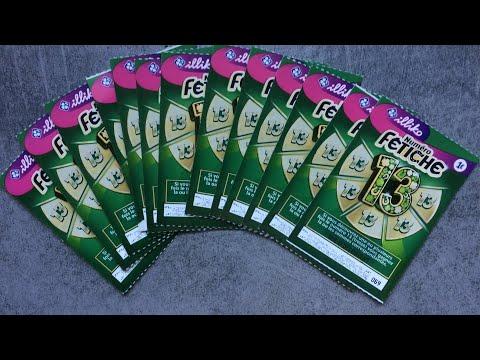DÉFI DE LOLO GRATTAGE $$$ 13 Numéro Fétiche 13 !!!