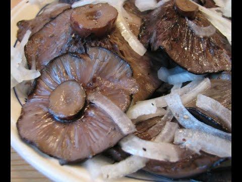 Засолка грибов