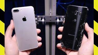 iPhone 7 Plus vs. Galaxy Note 7 Drop Test!
