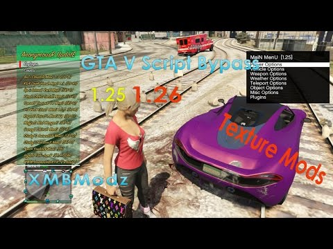 Best script bypass menu textures and more 1 25 / 1 26 scripts PS3