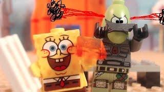 lego spongebob spongebob meets the STRANGLER