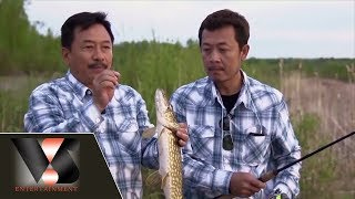 Phóng sự : Câu cá lạ ở Canada | Vân Sơn in Canada | Show hè trên xứ lạnh