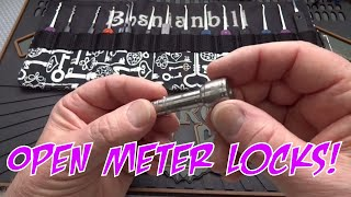 (785) Power Company Meter Locks - How to Pick Them Open!