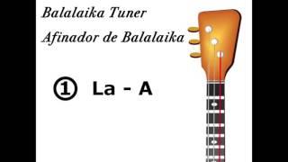 Balalaika Prima Tuner - Afinador de Balalaika Prima