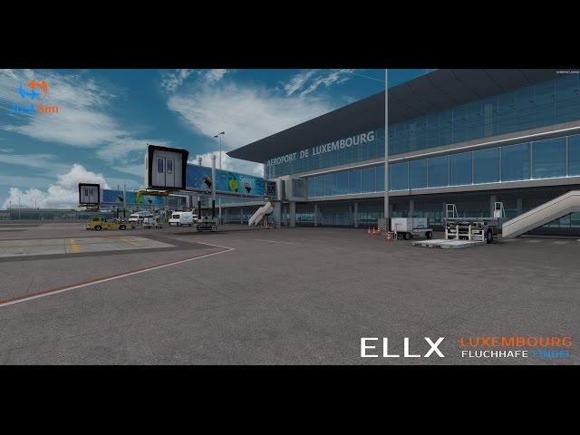 simMarket: JUSTSIM - LUXEMBOURG FINDEL AIRPORT ELLX FSX P3D
