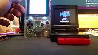 Gameboy Pocket Speaker Amp Mod VS Gameboy Advance SP