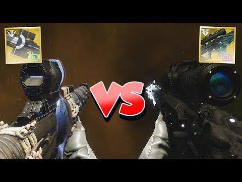 Best Exotic Sniper For Shadowkeep? Whisper VS Izanagi VS Darci [Destiny 2]