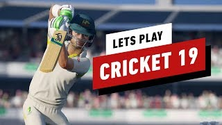 40 Minutes of Cricket 19 Gameplay - IGN Plays