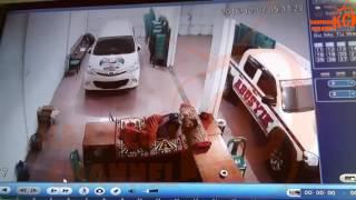 Detikdetik Becana Gempa Sigli  Aceh Rekaman CCTV  7 Desember 2016