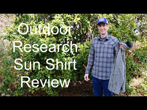Outdoor Research Sun Shirt Review