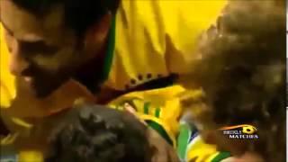 サッカーW杯2014ブラジル代表オスカルの技ありゴールハイライト!!!
