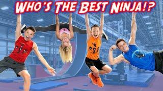 Ninja Warrior Race! Who is the Best NINJA?
