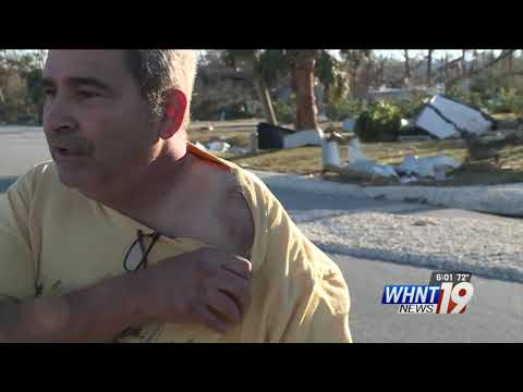 Mexico Beach Resident Survives Waiting Out Hurricane Michael