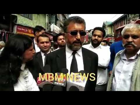 Advocates in Shimla jam traffic on the use of sealed roads