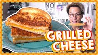 【超簡單】Grilled Cheese 芝士三文治|牛油與芝士