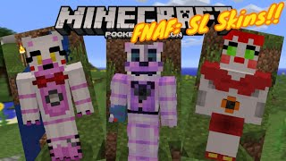 Scary & Creepy FNAF: Sister Location Skins!! (Funtime Freddy, Foxy, Circus Baby...) - Skin - MCPE