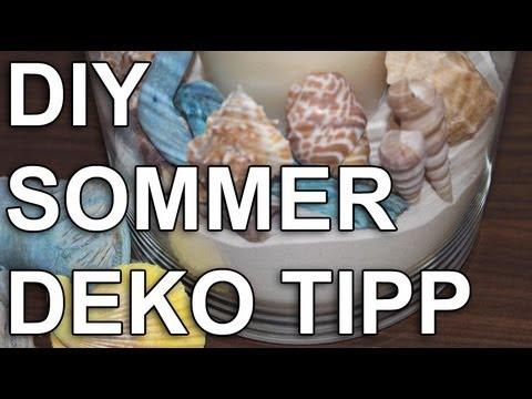 Strand Look - Sommerdeko - Deko Tipp - Schnell & einfach!