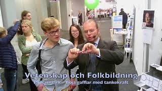 VoF Bokmässan 2017 – P.J Råsmark böjer gafflar