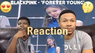 BLACKPINK   'FOREVER YOUNG' 0617 SBS Inkigayo (VFTC) Reaction! 🤩🤨😅