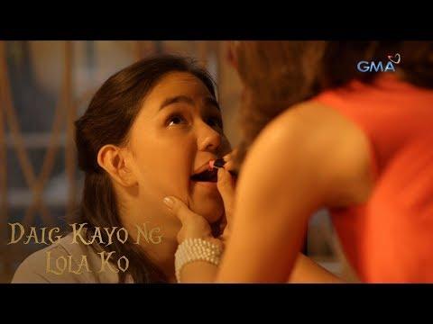 Daig Kayo Ng Lola Ko: Make-up session with Download Mommy (with English subtitles)