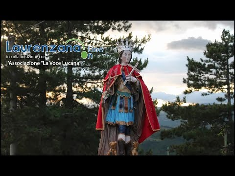 immagine di anteprima del video: Video processione festività San Vito 2018 Laurenzana 15 giugno...