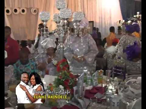 FUNKE AKINDELE WEDDING