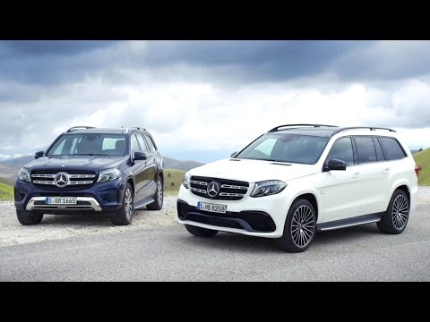 The new GLS – Trailer – Mercedes-Benz original