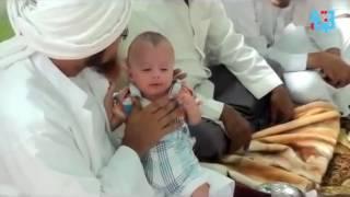 Subhanallah! Balita Nangis Jadi Diam Ditahnik Oleh Habib Umar Bin Hafidz